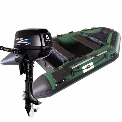 Annexe bateau pneumatique 300c fish avec moteur hors bord parson 5 cv - Moteur pour annexe pneumatique ...