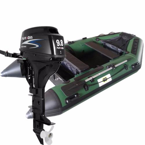 Annexe bateau pneumatique 300c fish avec moteur hors bord parson 9 8 cv - Moteur pour annexe pneumatique ...